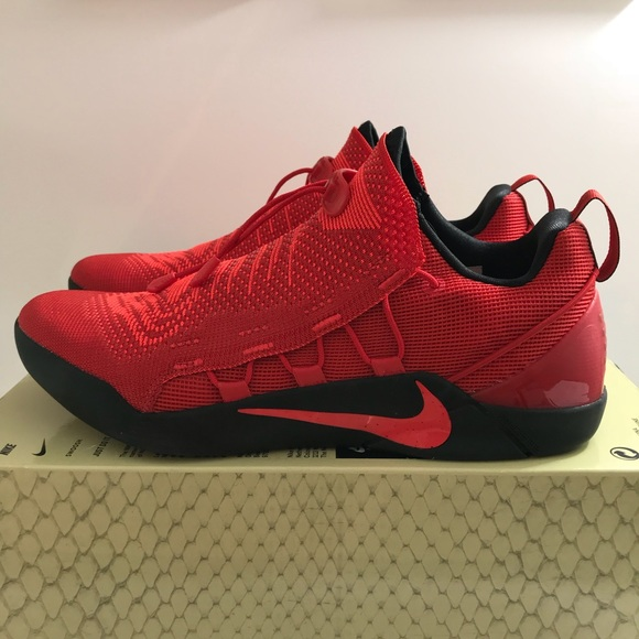 b4f115272077 Nike Mens Kobe A.D NXT University Red Crimson